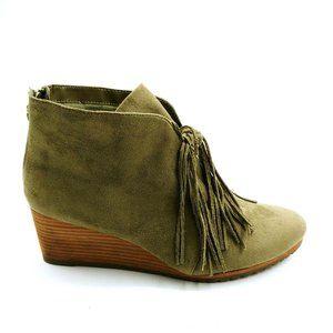 Dr Scholls Womans Classify Wedge Heel Ankle Boot